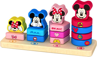 Wooden Mickey Mouse Counting Stacker1