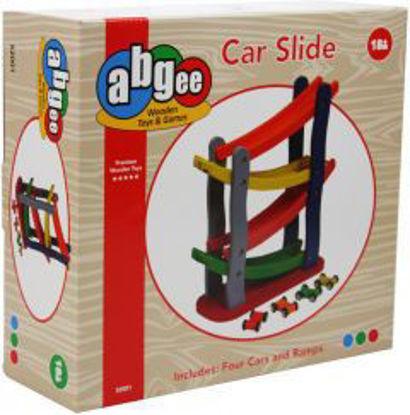 Wooden Car Slide