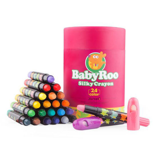 Silky Washable Crayon - Baby Roo 24 Colours