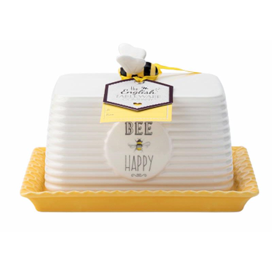 Picture of Bee Happy Butter Dish
