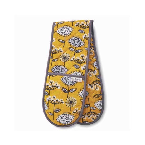 Picture of Cooksmart Double Oven Glove Retro Meadow