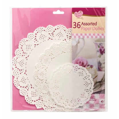 Picture of Queen Of Cakes 36 Round Paper Doilies