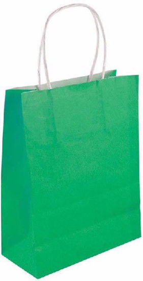 Green Bag with Handles