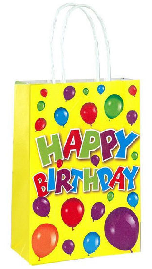Happy Birthday Bag with Handles