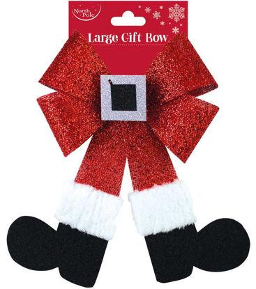 Santa Legs Bow
