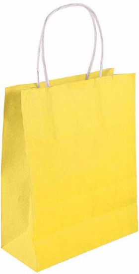 Yellow Bag with Handles
