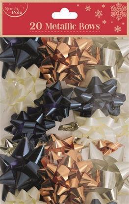 Fashion Metallic Bows