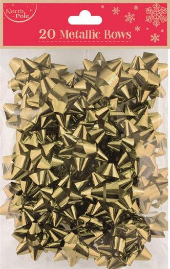 Gold Metallic Bows