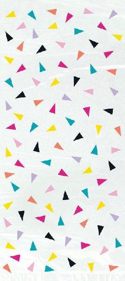 Triangle Confetti Birthday Cello Bags