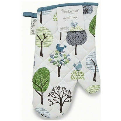 Picture of Cooksmart Single Oven Glove Forest Birds