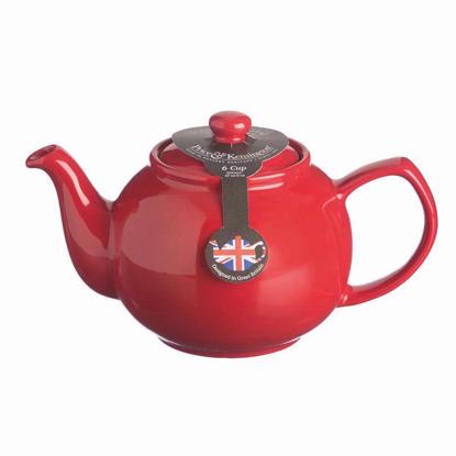 Price & Kensington 6 Cup Red Teapot