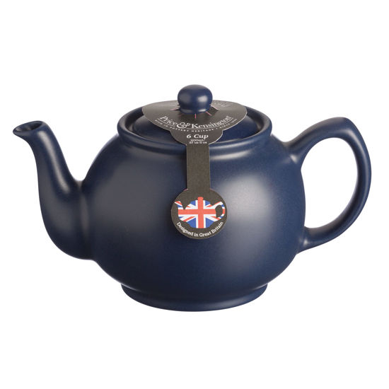 Price & Kensington 6 Cup Matt Navy Teapot