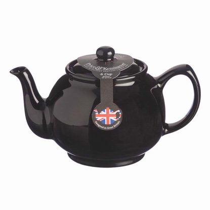 Price & Kensington Black  6 Cup Teapot