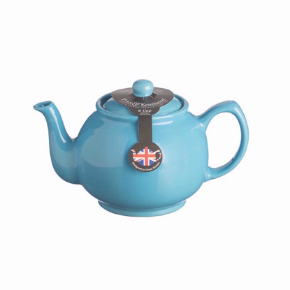 Price & Kensington Bright Blue 6 Cup Teapot