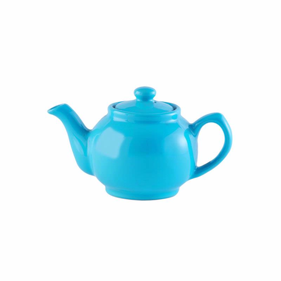Price & Kensington Bright Blue 2 Cup Teapot