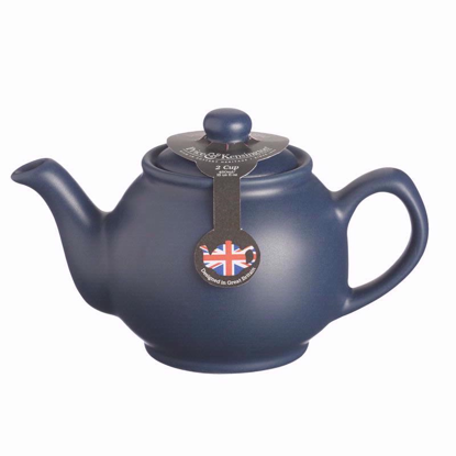 Price & Kensington Matt Navy 2 Cup Teapot