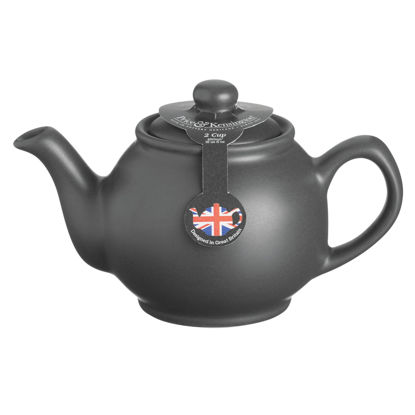 Price & Kensington Matt Black 2 Cup Teapot