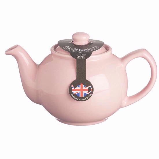Price & Kensington Pastel Pink 2 Cup Teapot